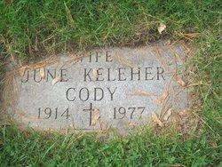 June <i>Keleher</i> Cody