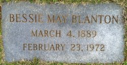 Mrs Bessie Lanier <i>May</i> Blanton