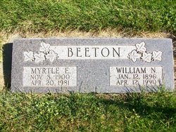 Myrtle O <i>Edwards</i> Beeton