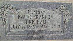 Eva <i>Carter</i> Francom Gresham