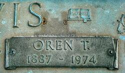 Oren T Davis