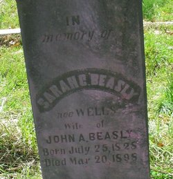 Sarah C. <i>Wells</i> Beasley