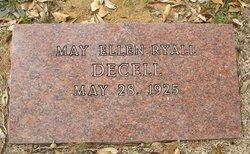 May Ellen <i>Ryall</i> Decell