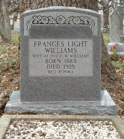 Frances Lavania <i>Light</i> Williams