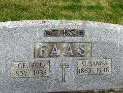 Susanna Suzie <i>Adams</i> Faas