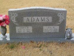 Ida Minnie <i>Coppedge</i> Adams