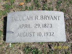 Talulah <i>Ray</i> Bryant