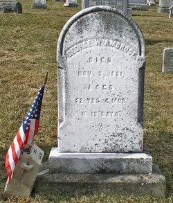 Pvt George W Ambrose