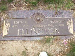 Edith Lorene <i>Rosenbaugh</i> Ellington