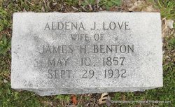 Aldena J. <i>Love</i> Benton