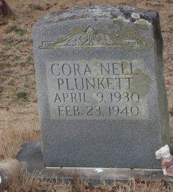 Cora Nell Plunkett