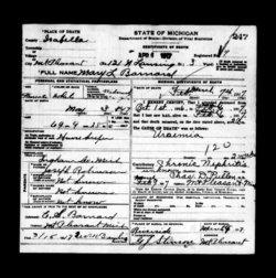 Mary L <i>Robinson</i> Barnard