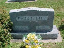 Daniel Francis Daughhetee