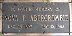 Nova Florence <i>Prickett</i> Abercrombie