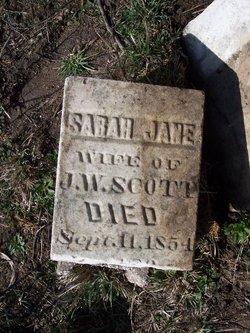 Sarah Jane <i>McPike</i> Scott