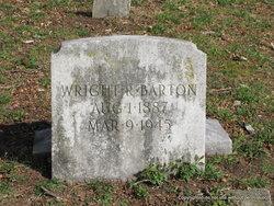 Wright R Barton