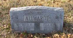 Rev Erich Baum Allwardt