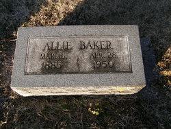 Allie M <i>Pope</i> Baker
