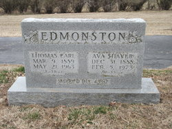 Thomas Earl Edmonston