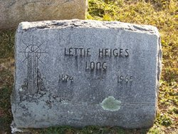 Anna Lettie <i>Heiges</i> Long