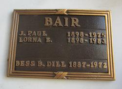 Lorna E <i>Robinson</i> Bair