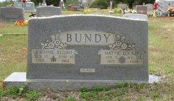 Mattie Liza Ida <i>Lockey</i> Bundy