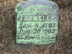 Carrie Josephine Rowell