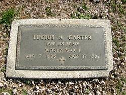 Lucius A Carter
