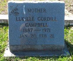 Lucille <i>Cordill</i> Campbell