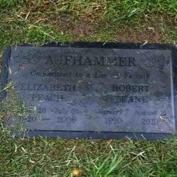 Elizabeth Wellford <i>Peach</i> Aufhammer
