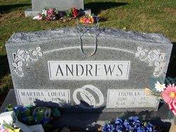 Martha Louise <i>Byers</i> Andrews