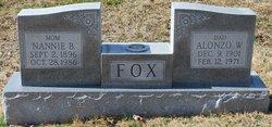 Alonzo W Fox