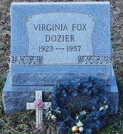 Virginia <i>Fox</i> Dozier
