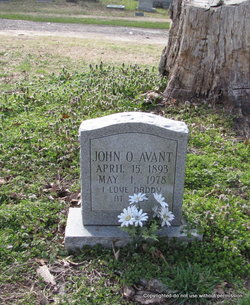 John Oliver Avant