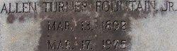 Allen Turner Fountain, Jr