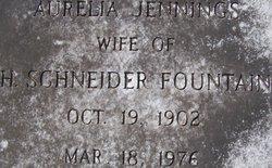 Aurelia <i>Jennings</i> Fountain