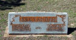 Mary Ann <i>Robertson</i> Alexander