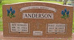 Ben Howard Anderson