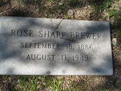 Rose <i>Sharp</i> Brewer