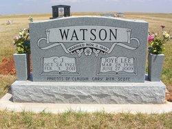 Joye Lee <i>Richardson</i> Watson
