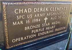 Spec Chad D Clements