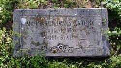 Margaret <i>Davis</i> Antony