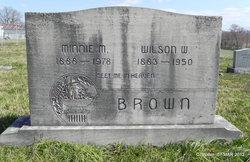 Minnie M Brown
