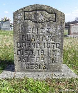 Eliza <i>Irwin</i> Blanton