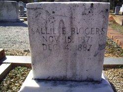 Sallie E. Biggers