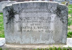 Martha E. <i>Winters</i> Phillips