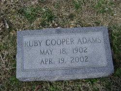 Ruby <i>Cooper</i> Adams