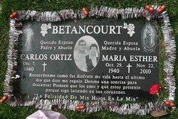 Mrs Maria Ester <i>Campos</i> Betancourt