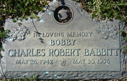 Charles Robert Bobby Babbitt
