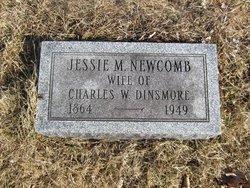 Jessie M <i>Newcomb</i> Dinsmore